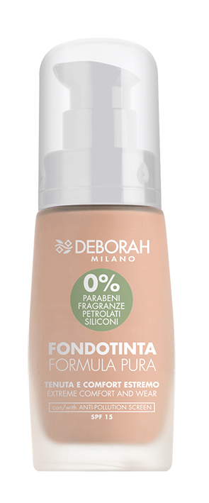 Makiažo pagrindas DEBORAH FORMULA PURA 0 FAIR ROSE, 30 ml
