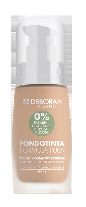 Makiažo pagrindas DEBORAH FORMULA PURA 2 BEIGE, 30 ml