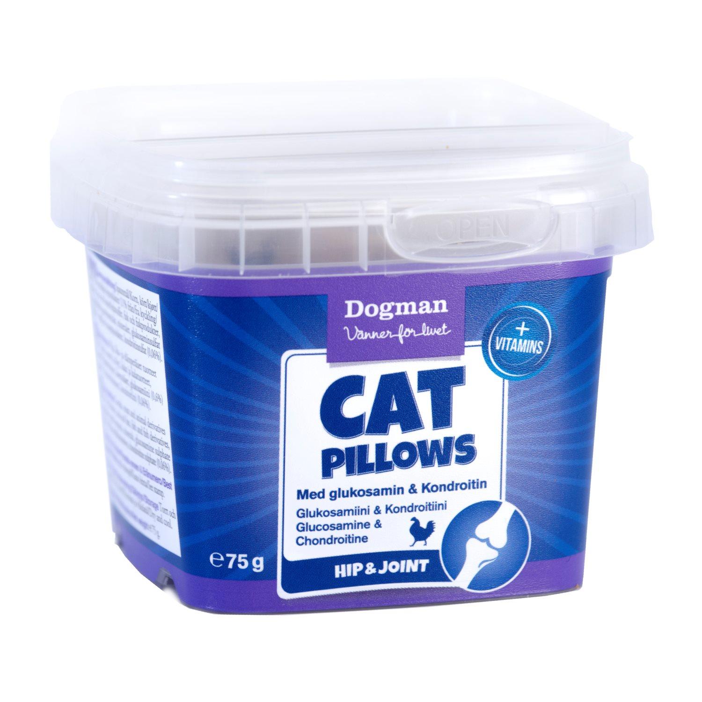 Skanėstai katėms DOGMAN su gliukozaminu ir chondroitinu, 75g