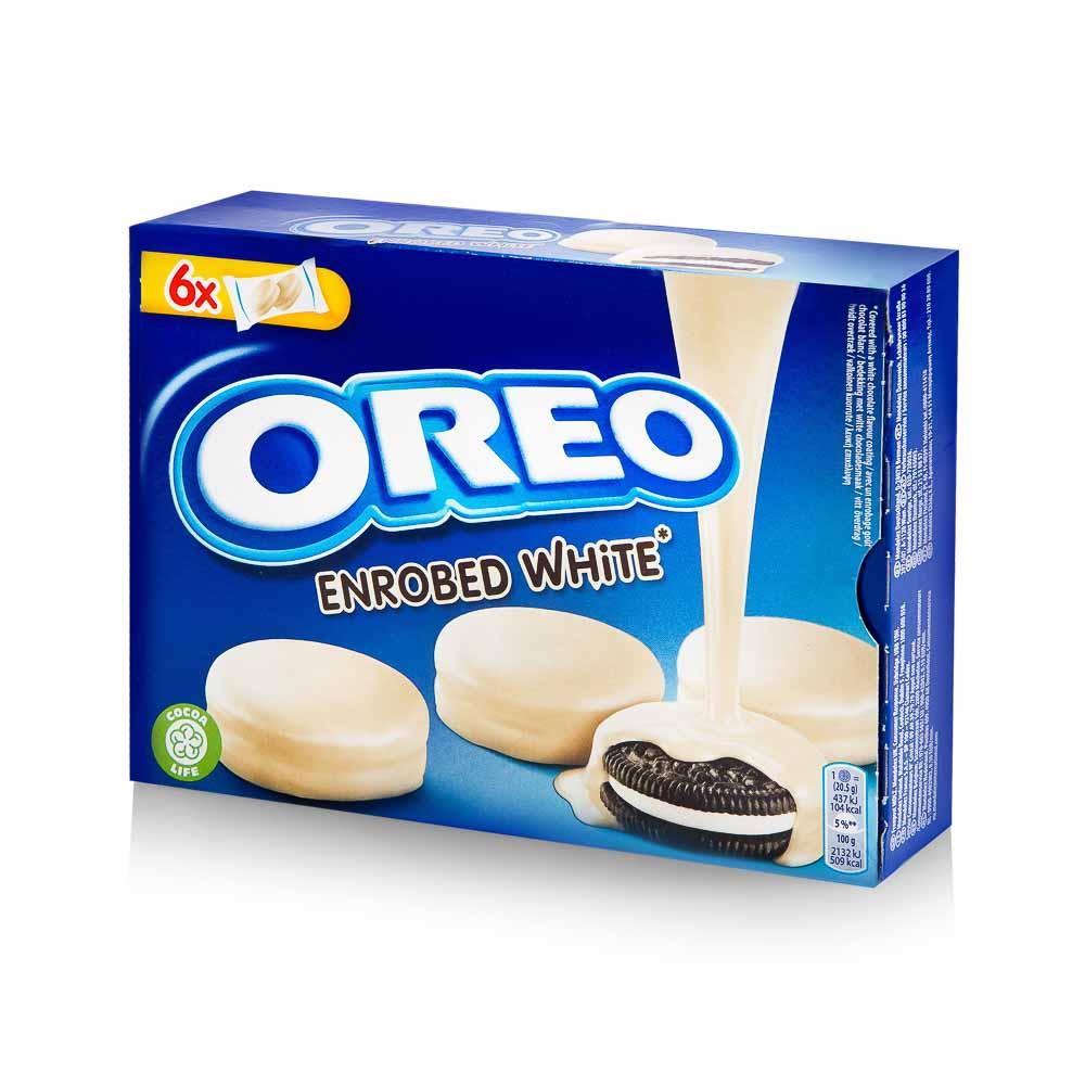 Sausainiai OREO su baltojo šokolado glaistu, 246g