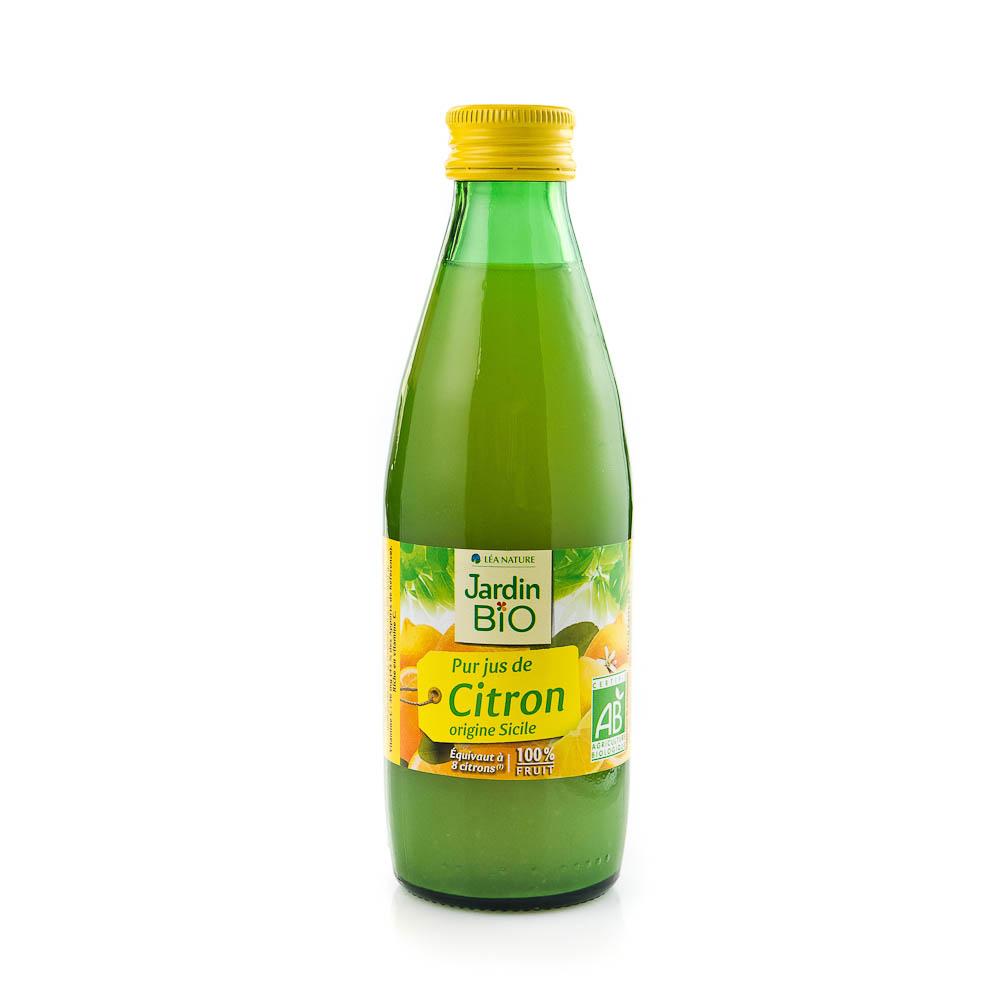 Ekologiškos citrinų sultys 100% JARDIN BIO, 250 ml