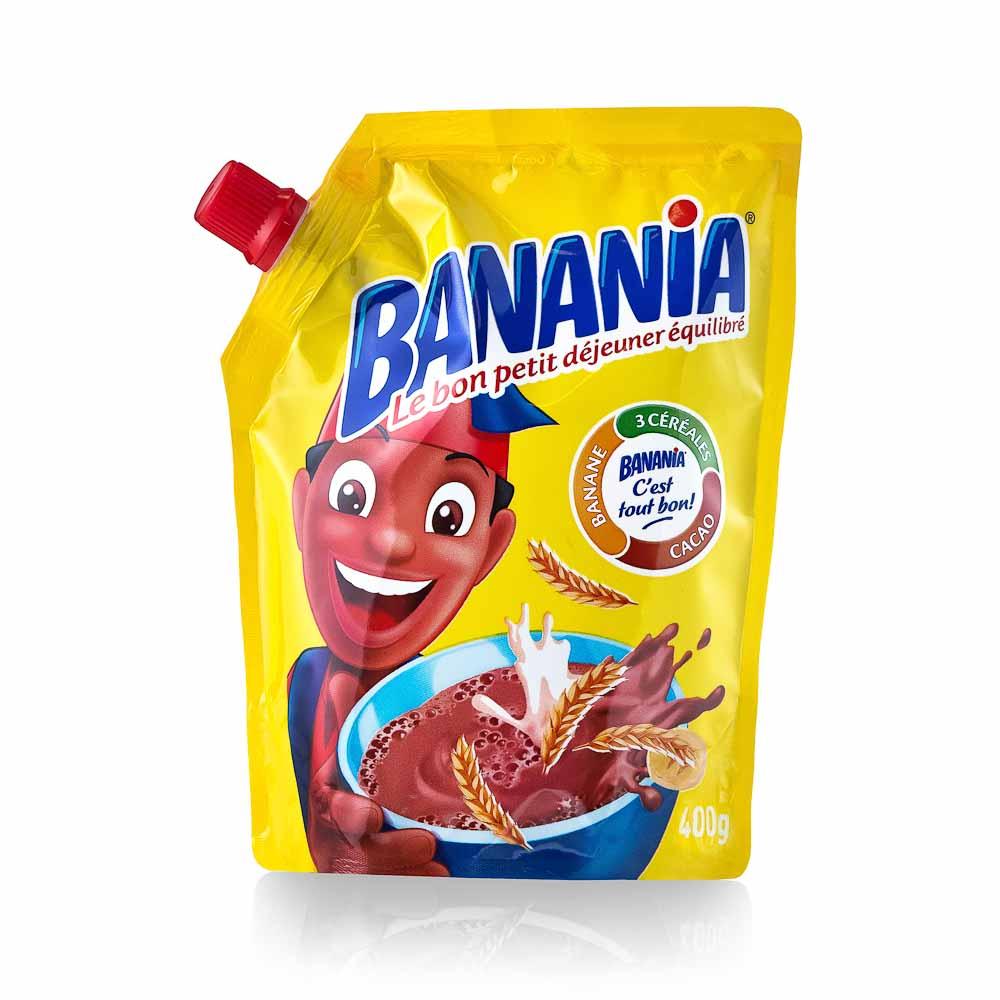 Kakavos skonio gėrimas BANANIA 400g