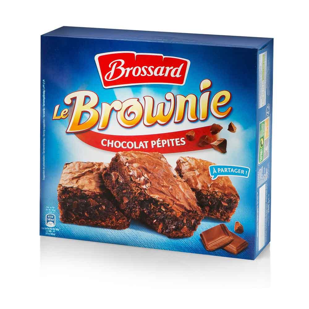 Šokoladinis desertas brownie BROSSARD, 285g