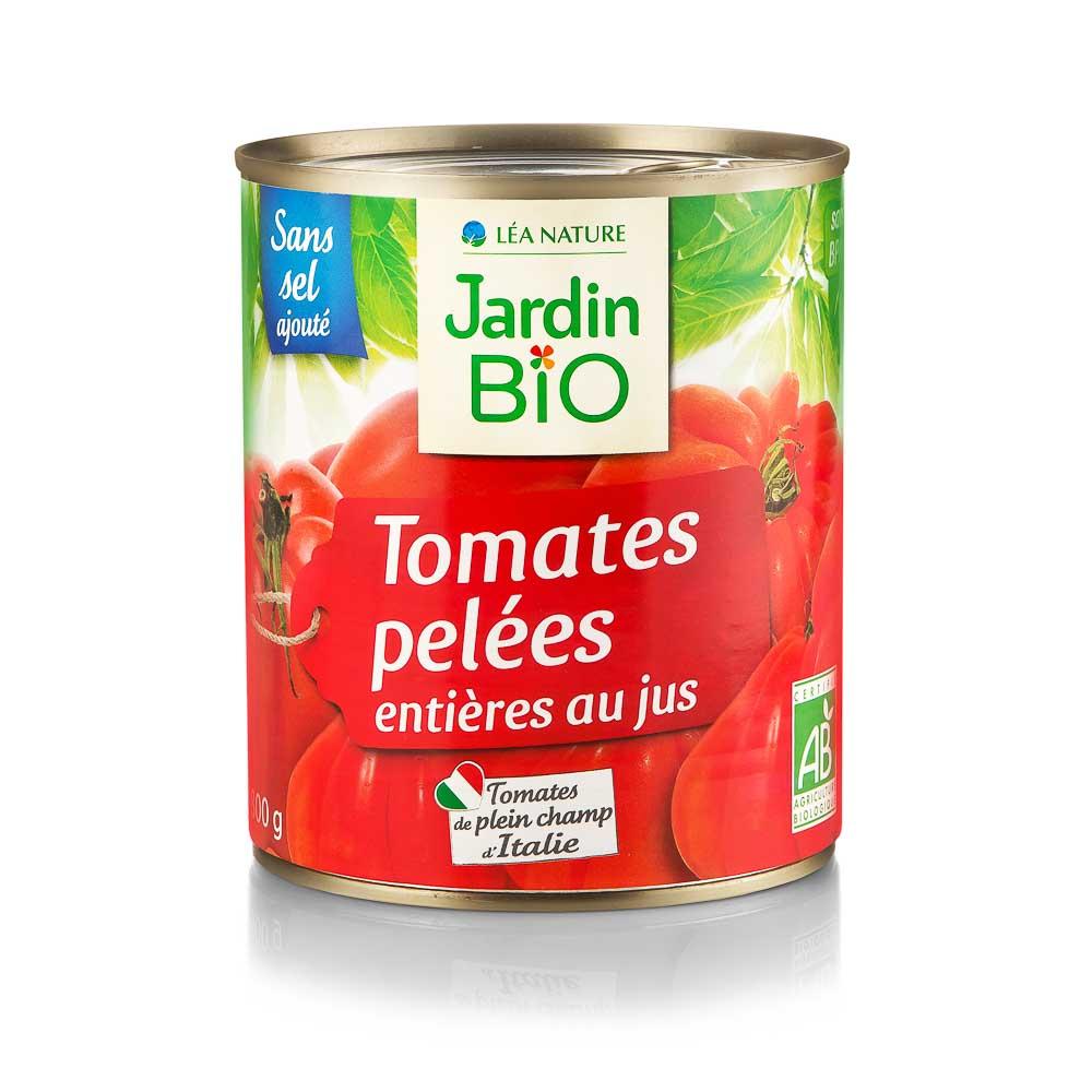 Lupti pomidorai savo sultyse JARDIN BIO, 800 g