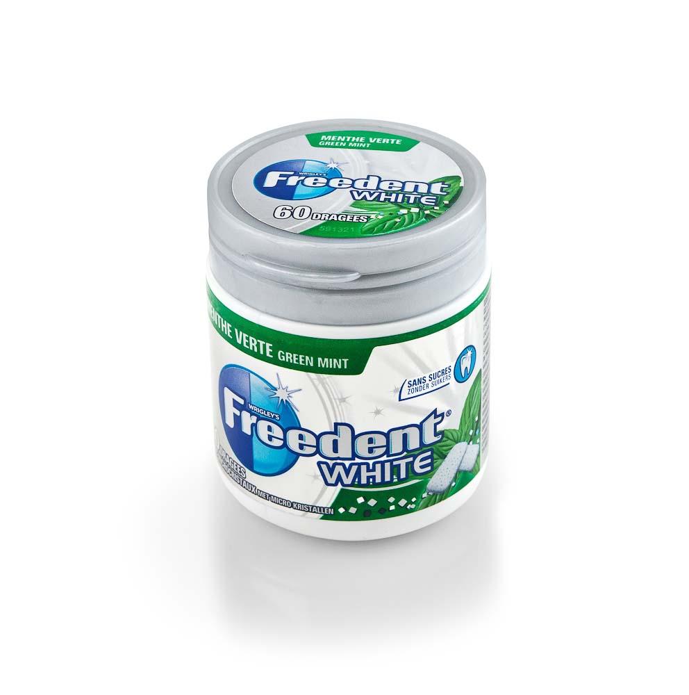 Kramtomoji guma FREEDENT White, 84 g