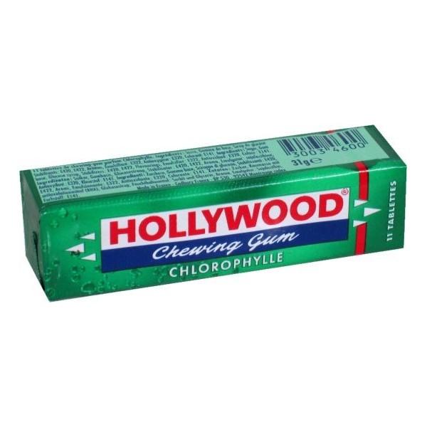 Kramtomoji guma HOLLYWOOD, mėtinė, 31 g