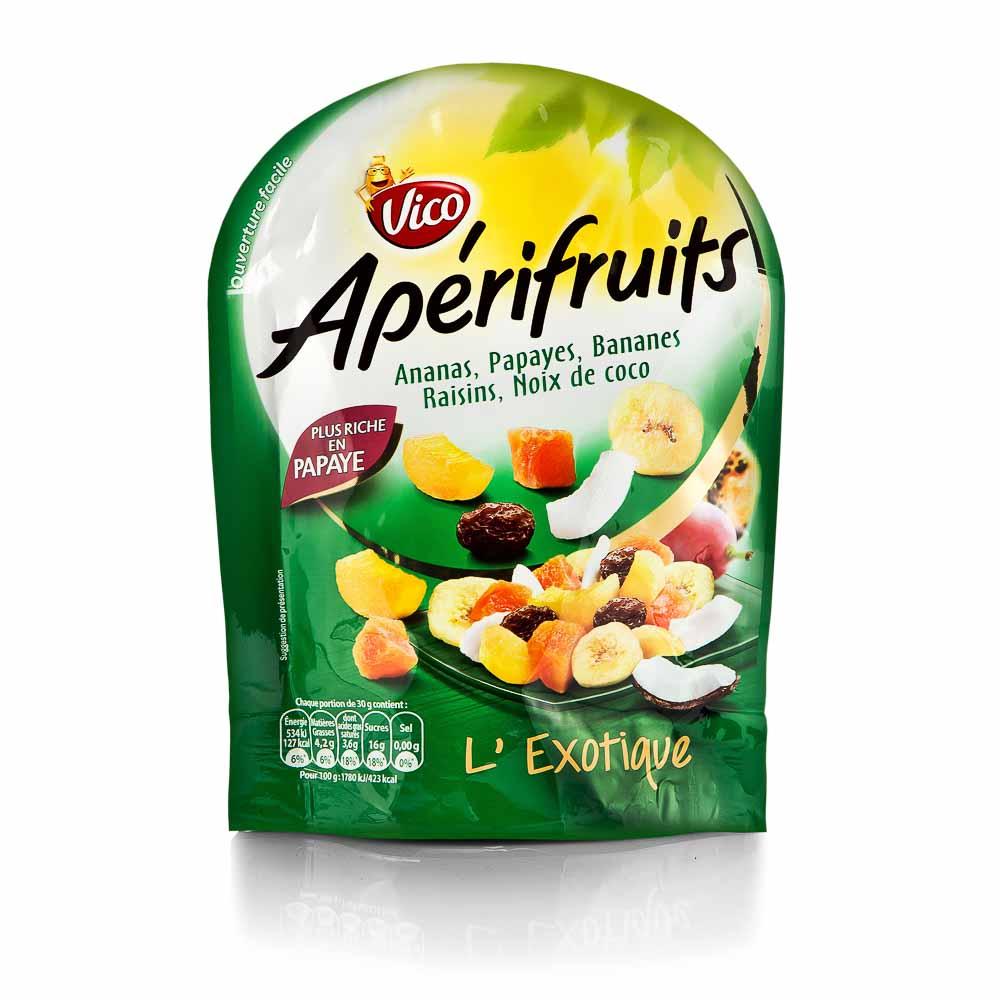 Džiovintų vaisių mišinys VICO APERIFRUITS 100g