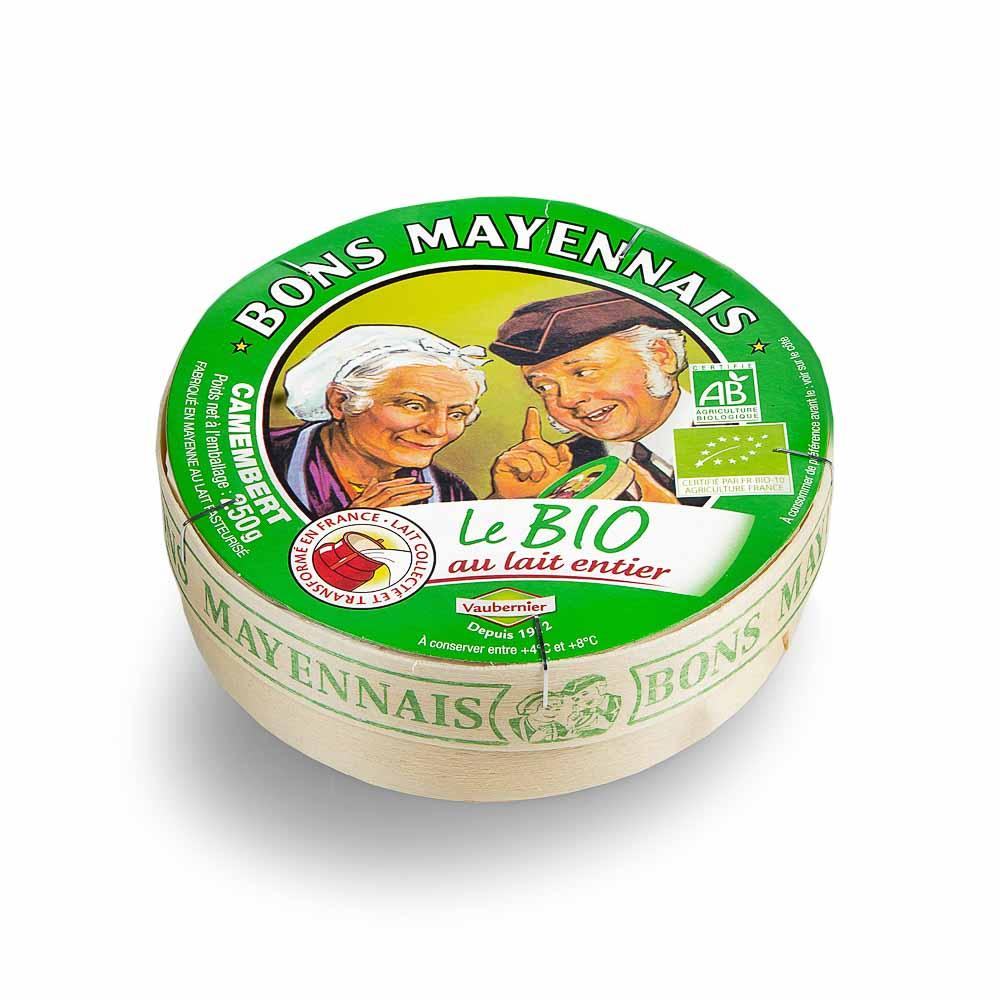 Pelėsinis sūris kamamberas 26% BIO, 250g