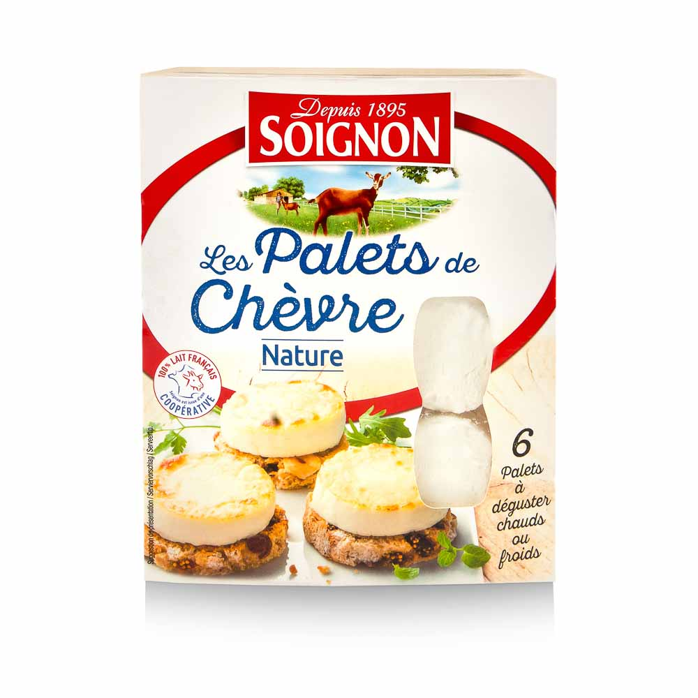 Ožkos pieno sūris 6vnt SOIGNON,150g