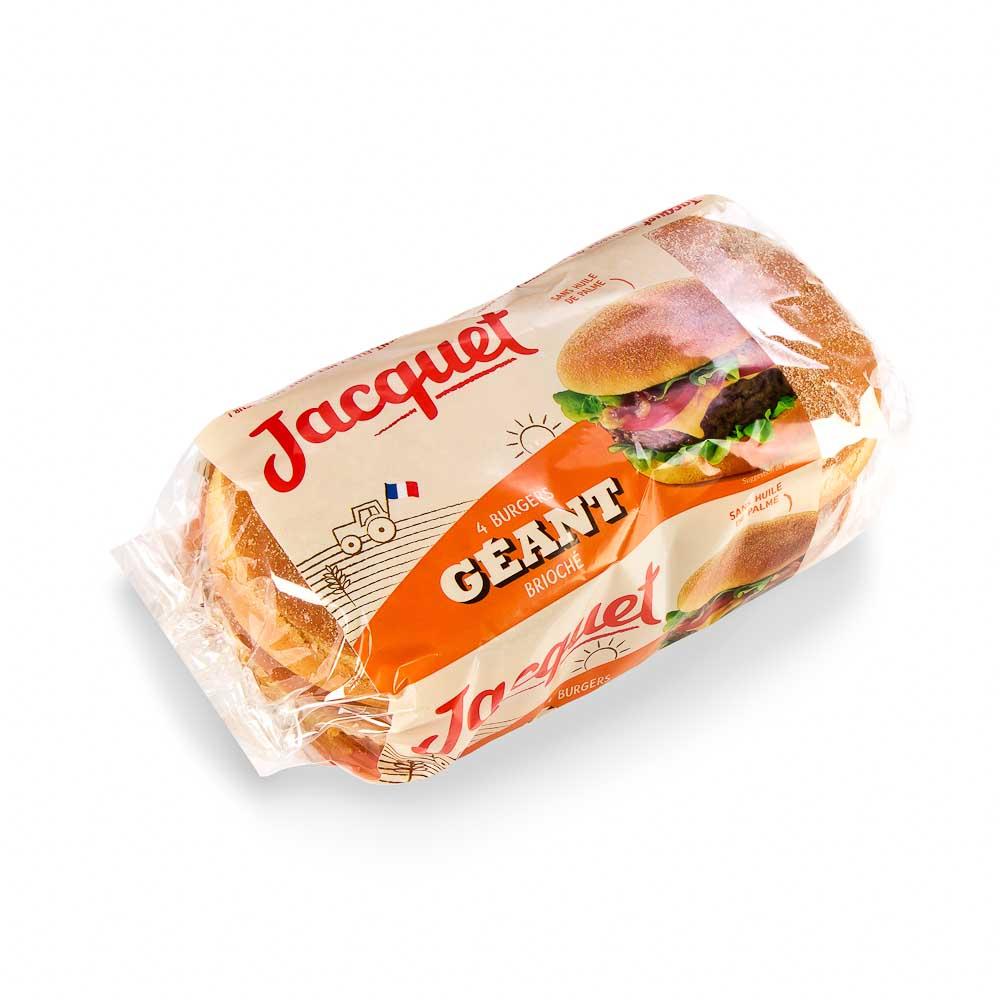 Mėsainio bandelės JACQUET, 4×75 g