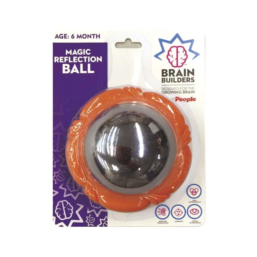 """Veidrodinis BRAIN BUILDERS kamuolėlis """"Magiški atspindžiai"""" nuo 6 mėn., 1 vnt."""