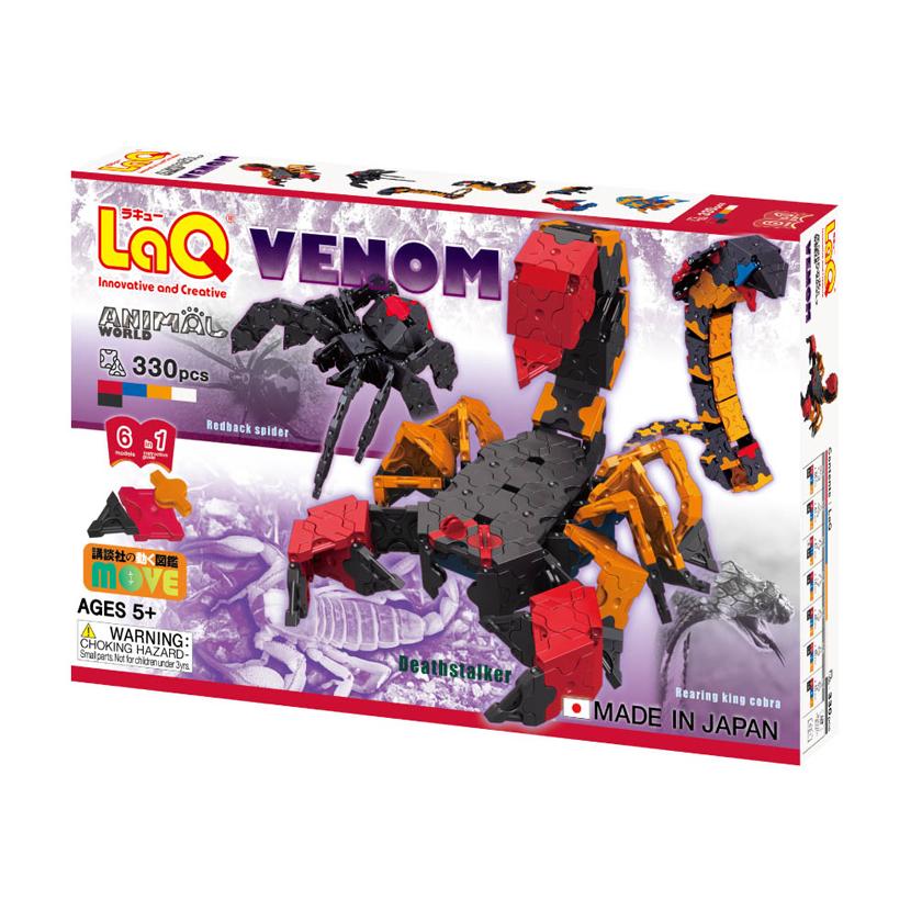 """Japoniškas edukacinis konstruktorius LAQ  """"IW Venom"""" nuo 5 metų, 1 vnt."""