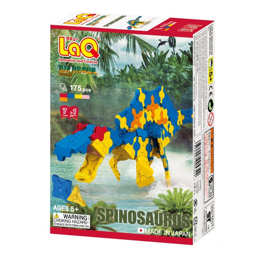 """Japoniškas edukacinis konstruktorius LAQ """"Dinosaur World SPINOSAURUS"""" nuo 5 metų, 1 vnt."""