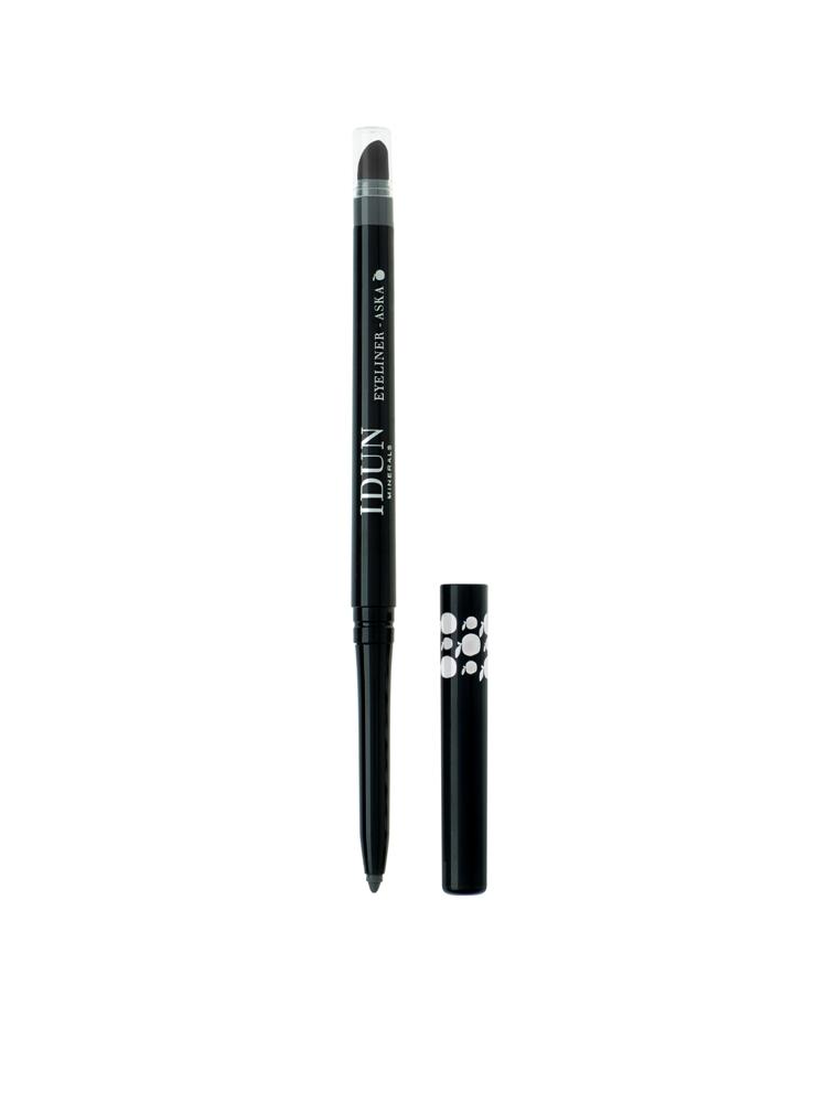 Išsukamas akių pieštukas IDUN Minerals pilkos spalvos Aska (5104), 0,35 g
