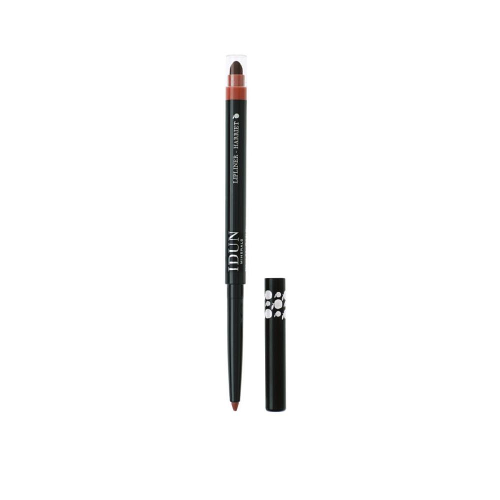 Lūpų pieštukas IDUN Minerals Harriet (rudos spalvos Nr. 6302), 0,3 g