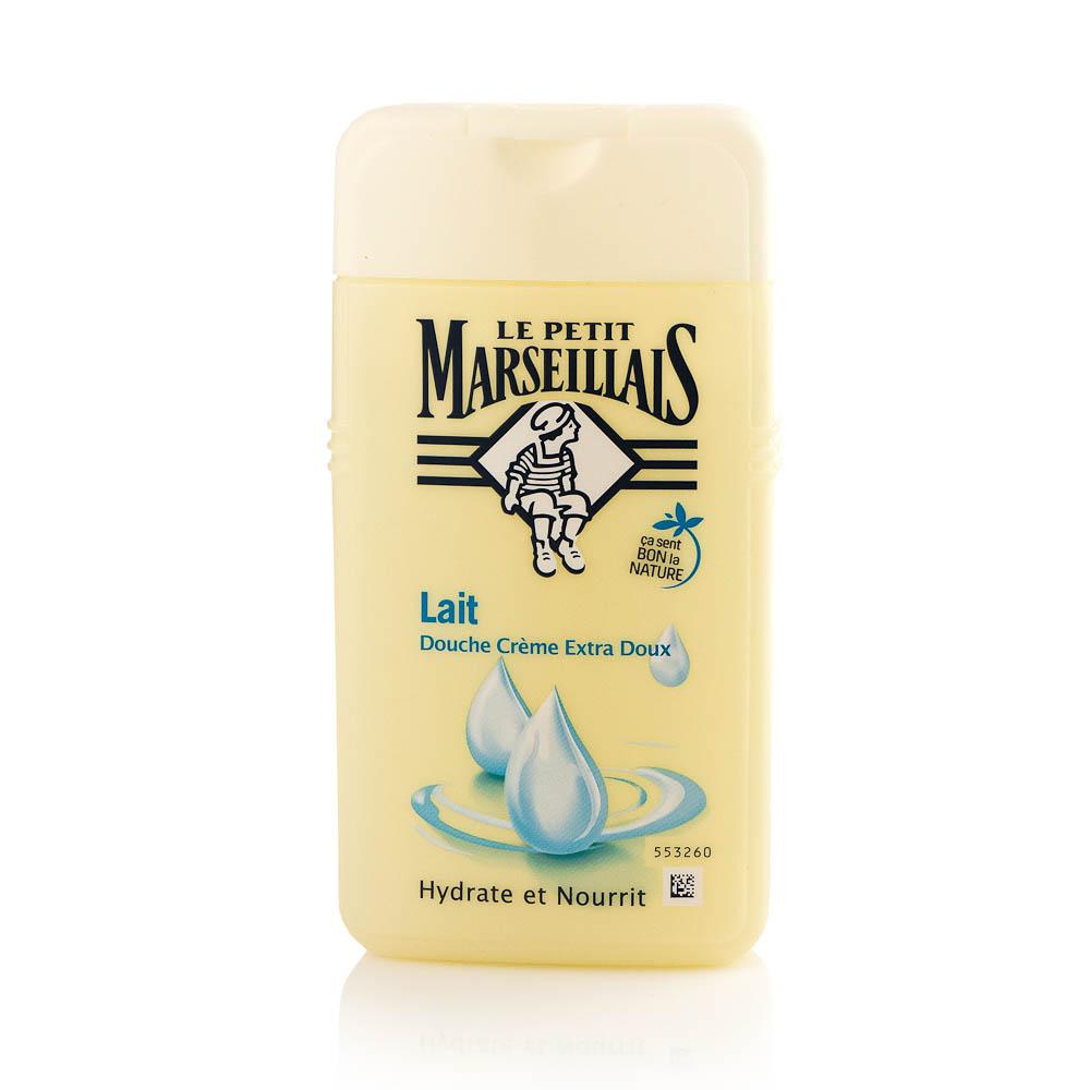Želė dušui LE PETIT MARSEILLAIS su pienu, 250 ml