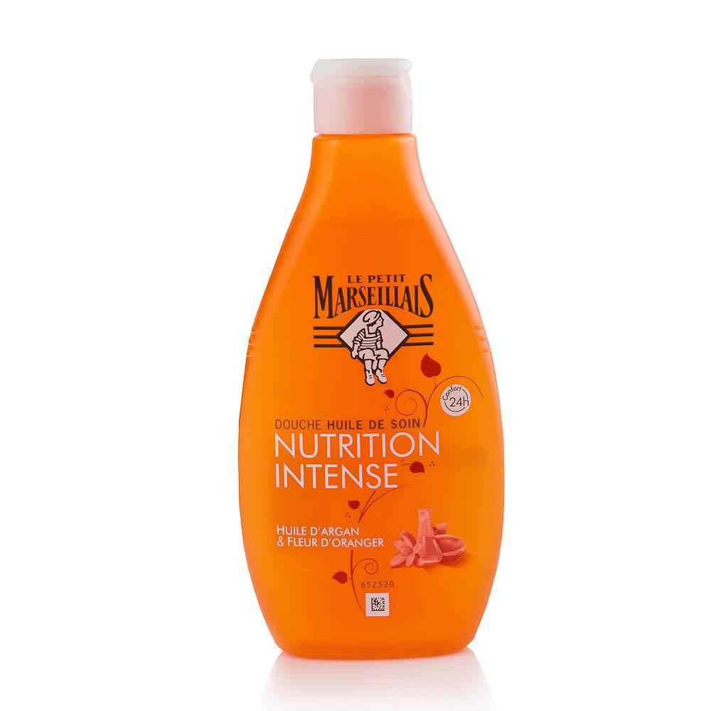 Argano ir apelsinmedžio žiedų aliejus dušui LE PETIT MARSEILLAIS, 250 ml