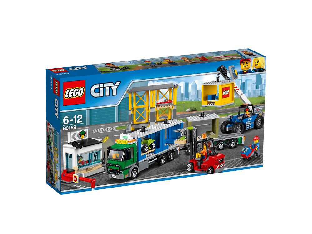 Krovinių terminalas LEGO CITY 6 – 12 metų vaikams (60169)