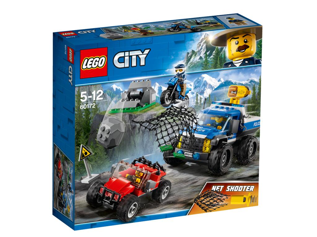 Gaudynės žvyrkelyje LEGO CITY 5 – 12 metų vaikams (60172)