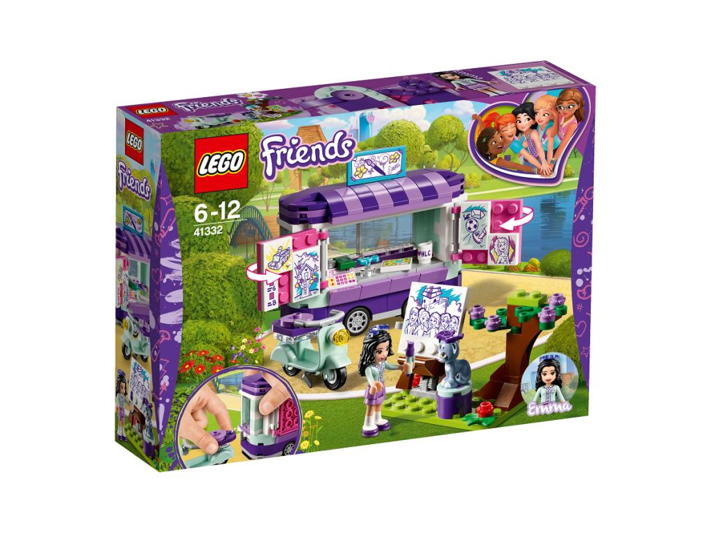 Emma meno dirbinių kioskas LEGO FRIENDS  6 – 12 metų vaikams (41332)