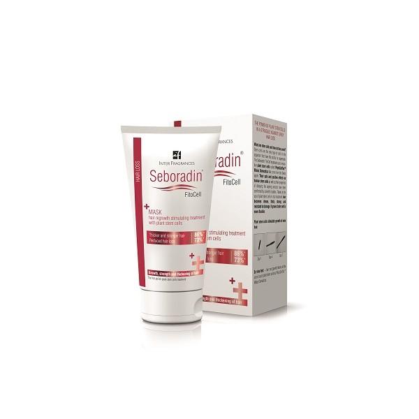 Kaukė SEBORADIN Fitocell skatinanti plaukų augimą, 150 ml