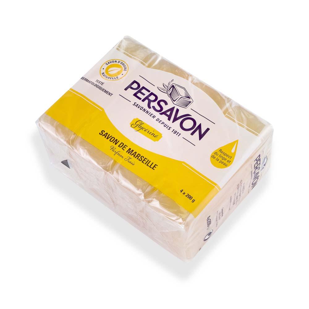 Marselio muilas skalbimui PERSAVON su glicerinu, 4×200 g
