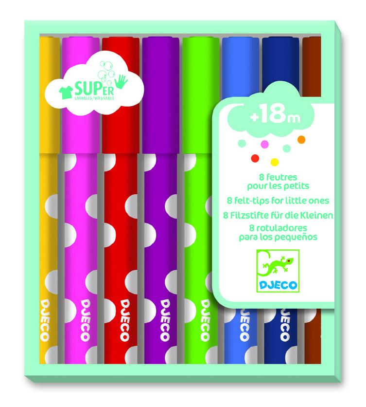 Spalvų rinkinys mažyliams DJECO The colours (DJ09001)
