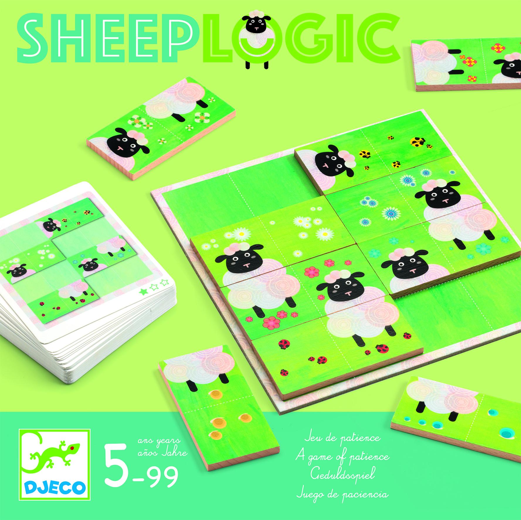 Loginis žaidimas DJECO Sheep Logics (DJ08473)