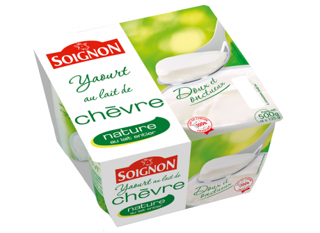 Natūralus ožkų pieno jogurtas SOIGNON, 500 g