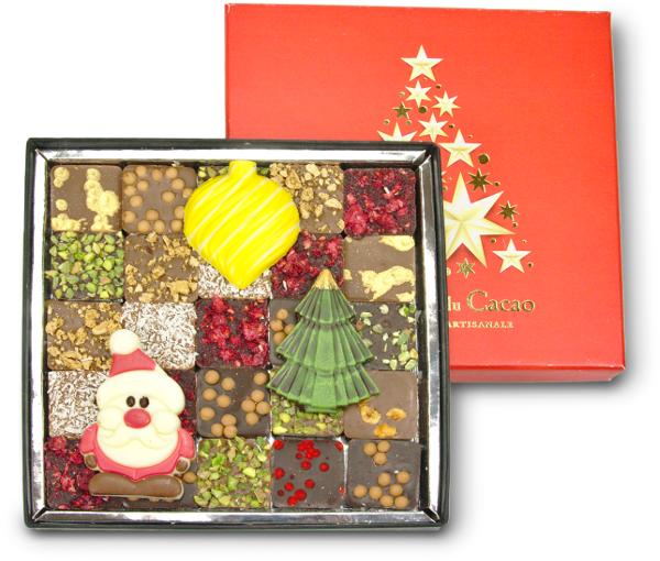 Kalėdinis šokoladų rinkinys COMPTOIR du CACAO, 250 g