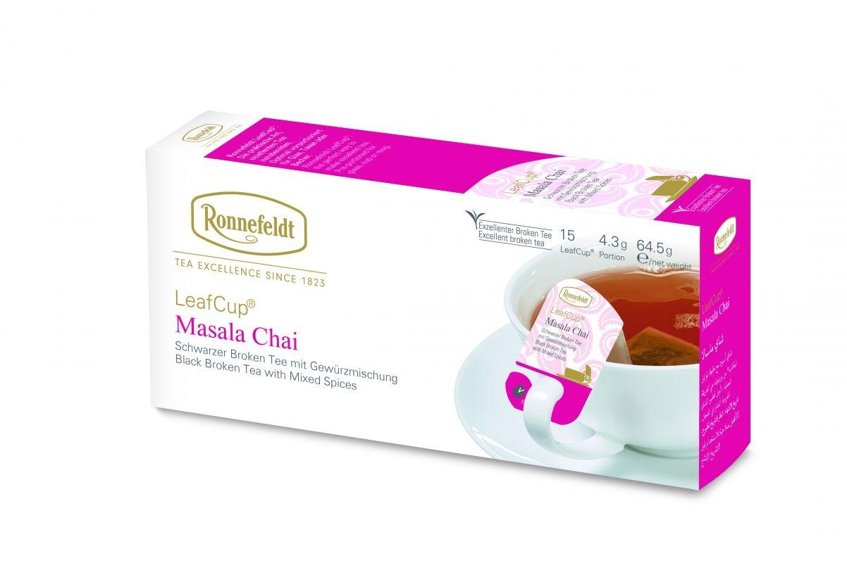 Juodoji arbata LeafCup® Ajurveda Masala Chai 15 vnt.