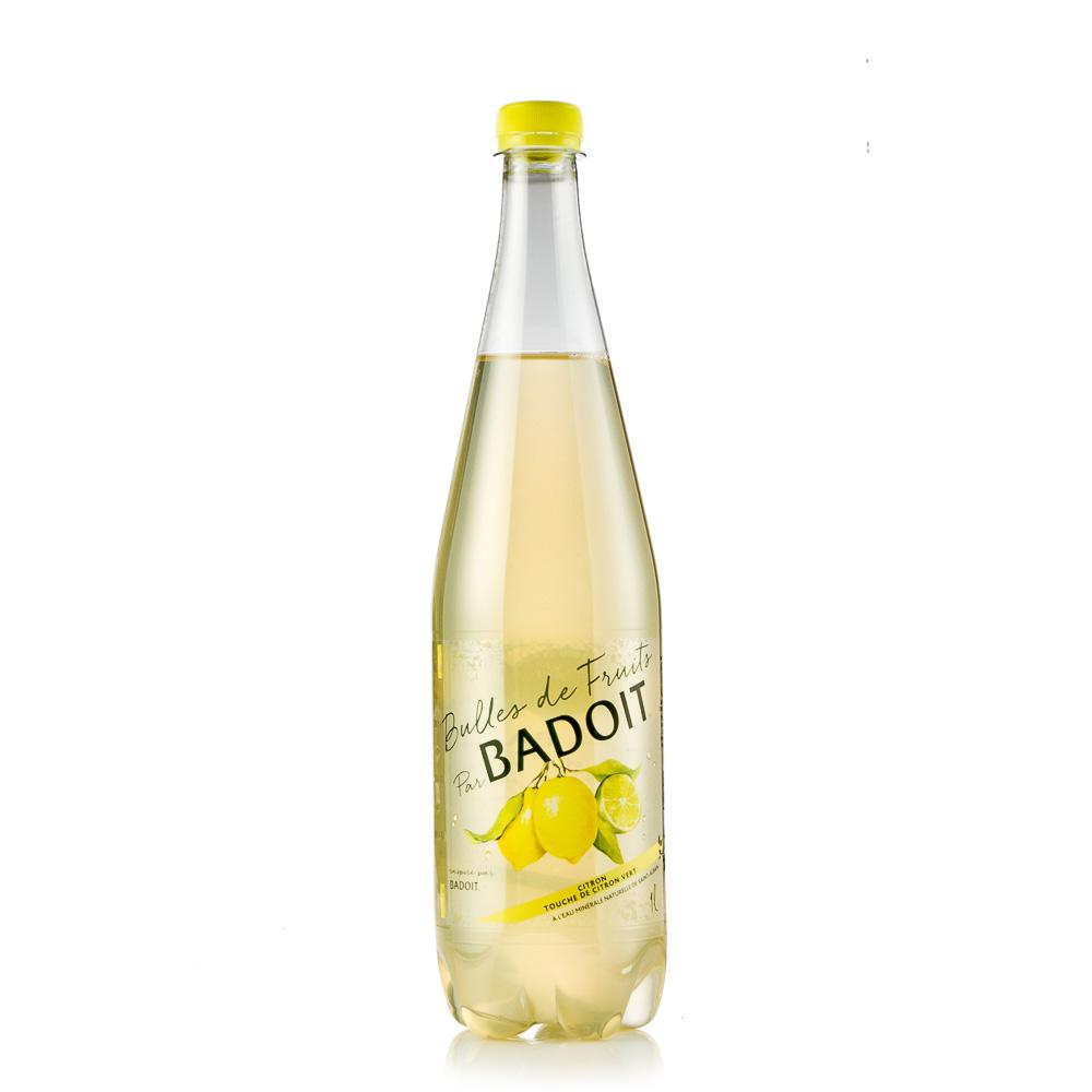 Natūralaus mineralinio vandens gėrimas BADOIT,citrinų skonio 1L