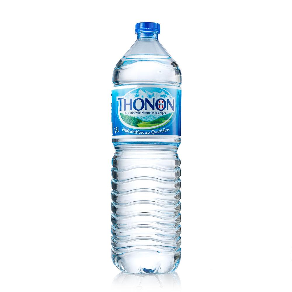 Natūralus mineralinis vanduo THONON 1L