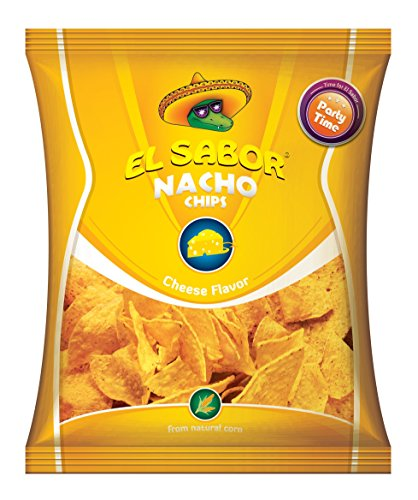 Kukurūzų traškučiai Načios su sūriu El Sabor 225g