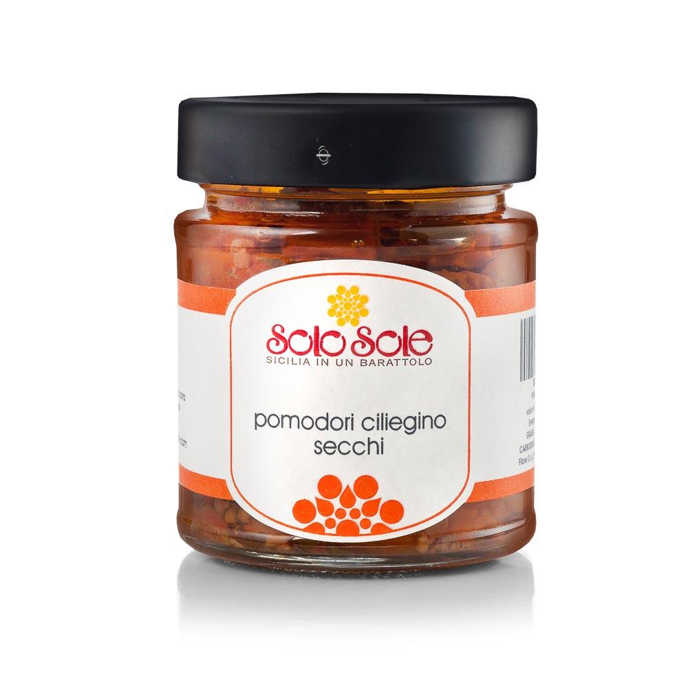 Džiovinti vyšniniai pomidoriukai SOLO SOLE, 180g