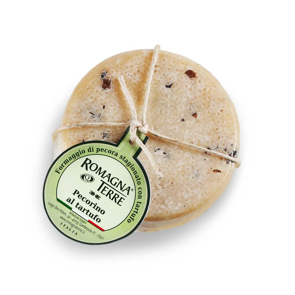Pekorino sūris su triufeliais ROMAGNA TERRE