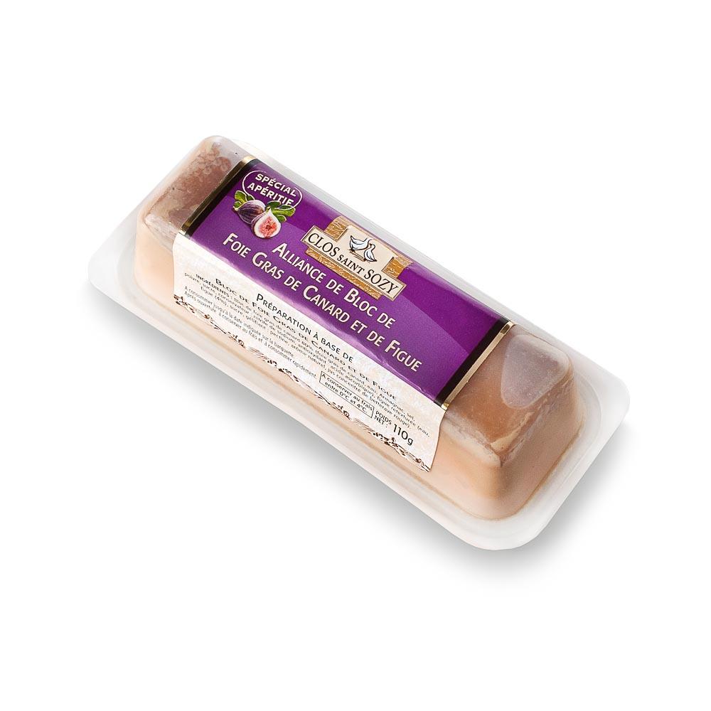 """Ančių kepenėlių paštetas """"FOIE GRAS"""" su figomis CLOS SAINT SOZY, 110 g"""