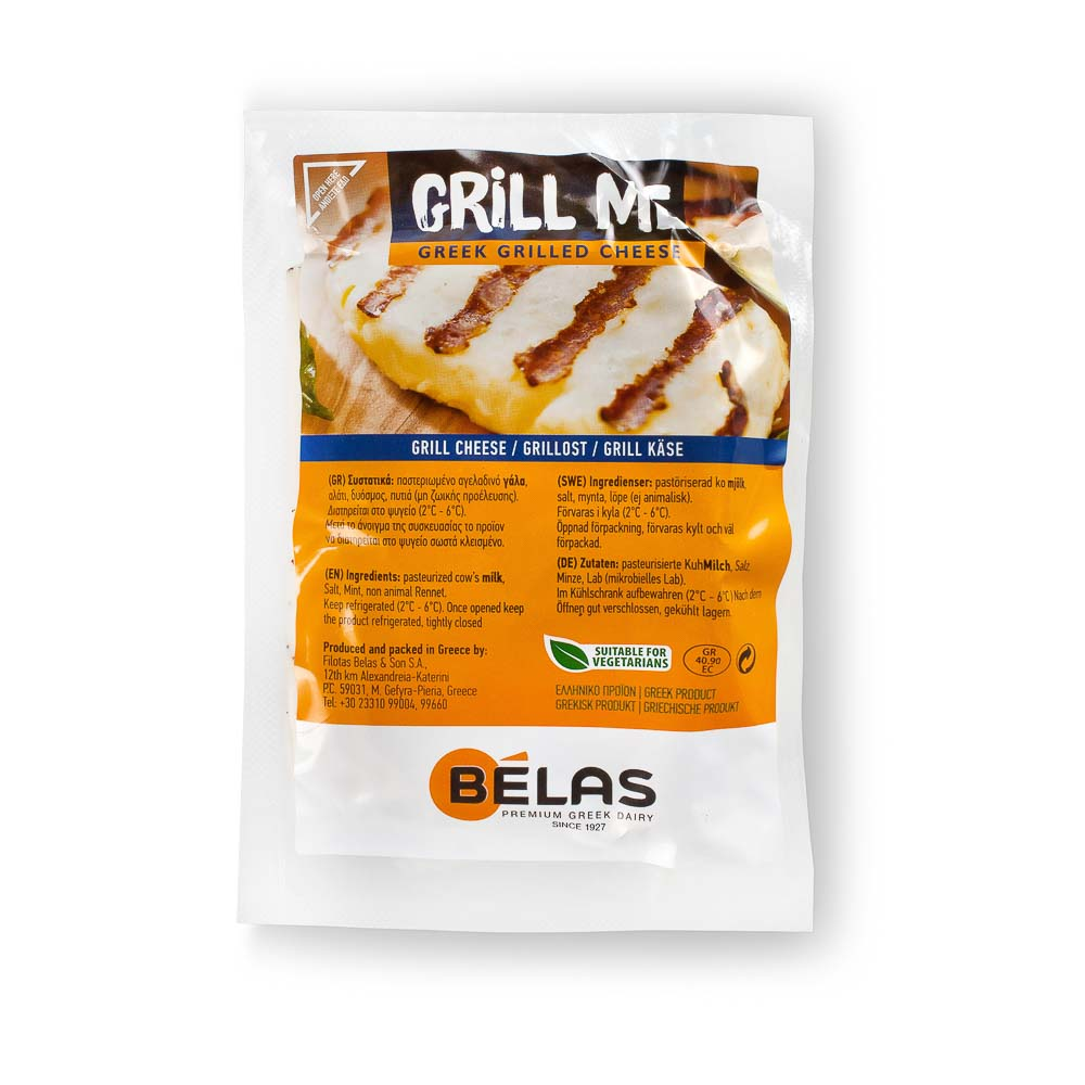 Sūris griliui GRILL ME avių ir karvių pieno, rieb., 43%, 200g