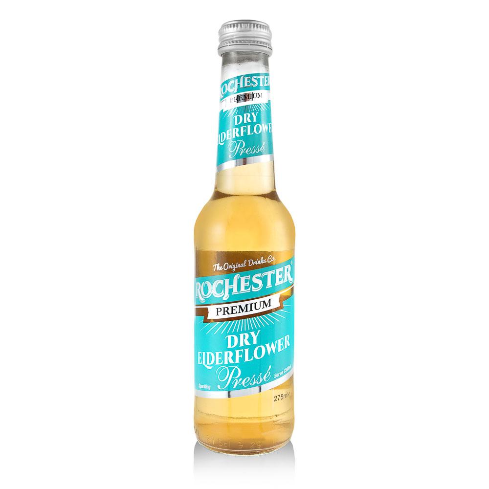 Gazuotas gėrimas ROCHESTER, šeivamedžio žiedų skonio, 275ml