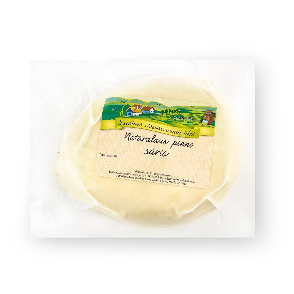 Ūkininko JASINEVIČIAUS saldaus pieno varškės sūris, 22%