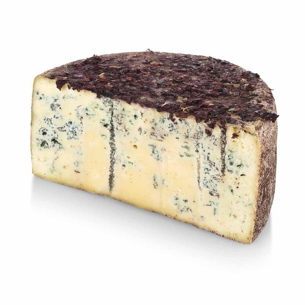 Pekorino sūris su Roquefort pelėsiu ir  aguonų žiedlapiais ROMANIAE