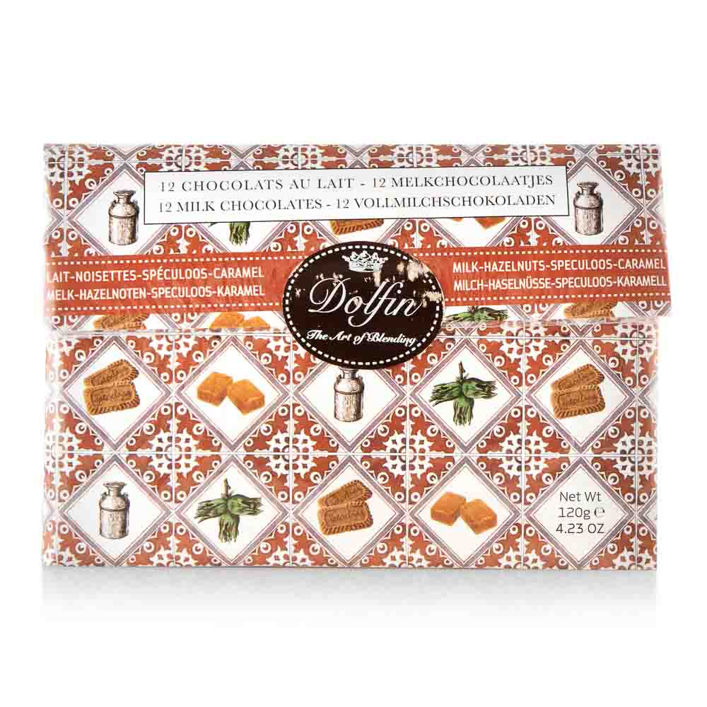Pieniško šokolado rinkinys POUCHE,120g