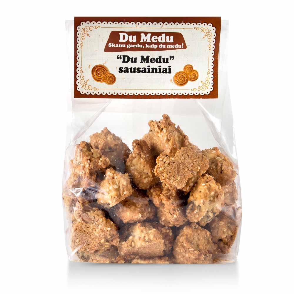 Ekologiški sausainiai DU MEDU, 250g