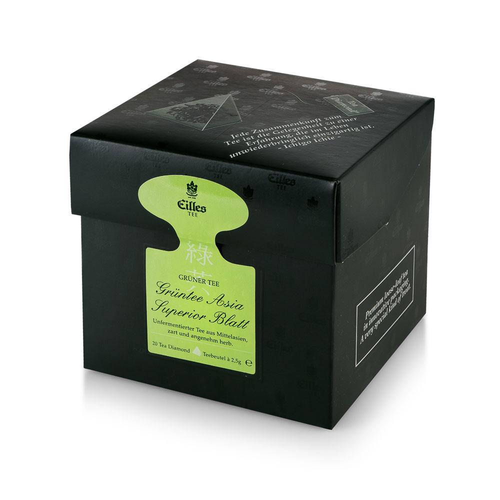 Arbata Green Tea Asia Eilles Tee, 20*2g