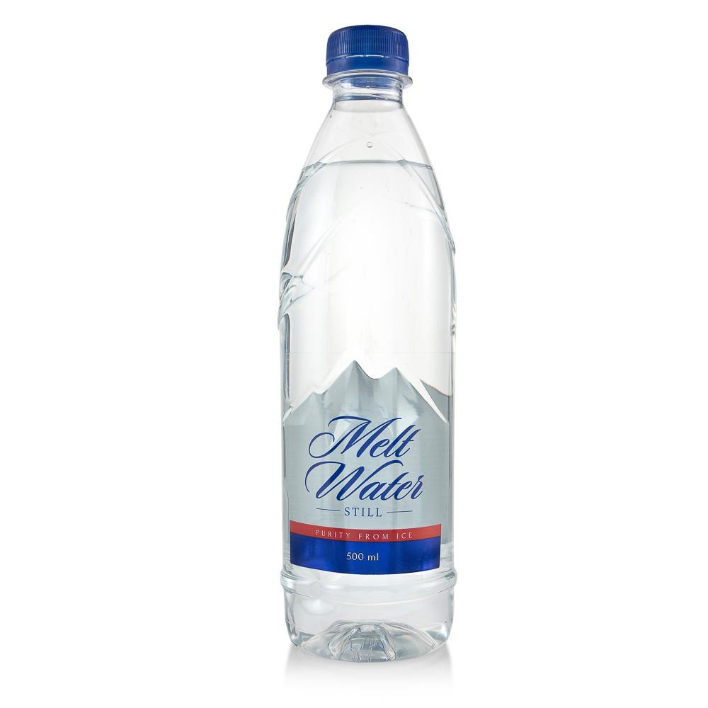 Negazuotas stalo vanduo MELT WATER, 500 ml