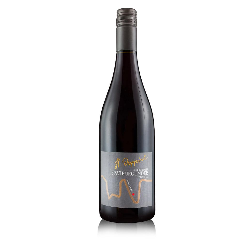 Vynas DEPPISCH SPATBURGUNDE  2015, 13% 0,75L