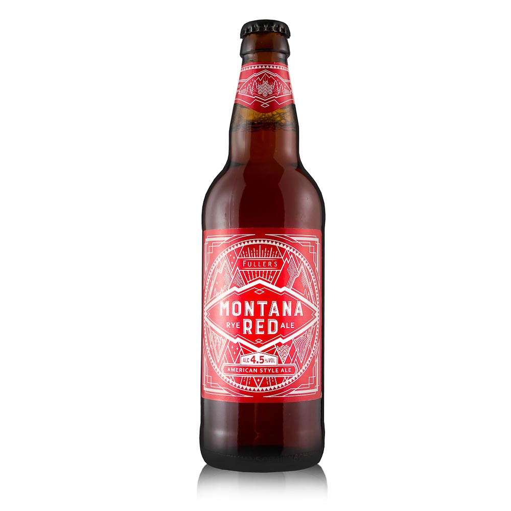MONTANA Red Rye Ale alus 4,5%, 0,5l