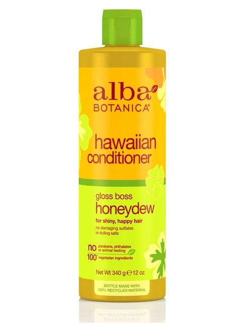 Maitinantis kondicionierius plaukams ALBA BOTANICA su melionu, 350 ml
