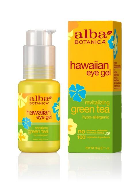 Gaivinantis paakių gelis ALBA BOTANICA su žaliąja arbata, 30 ml