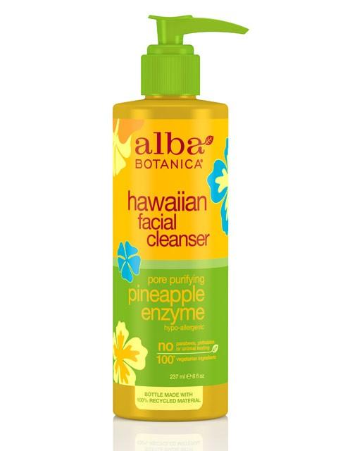 Poras valantis veido prausiklis ALBA BOTANICA su ananasų enzimais, 230 ml